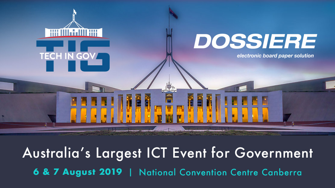 Tech in Gov 2019 - Dossiere - Gold Sponsor